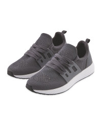Crane Ladies' Running Trainers - Grey