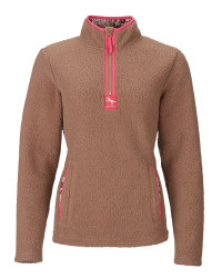 Ladies' Sherpa Fleece - Brown