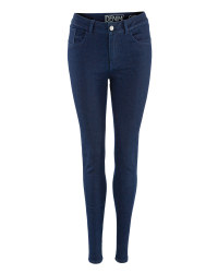 Ladies' Skinny Jeans - Dark Blue