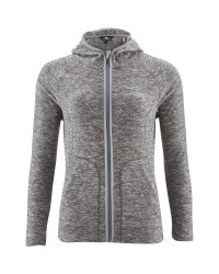 Ladies' Space Dye Fleece - Grey