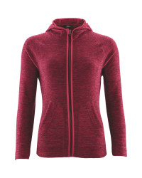 Ladies' Space Dye Fleece - Pink
