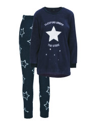 Ladies' Star Loungewear Set