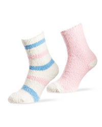 Ladies' Stripe Lounge Socks