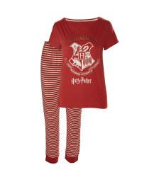Ladies' Striped Hogwarts Pyjamas