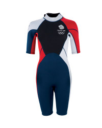 Ladies' Team GB Shorty Wetsuit