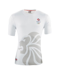 Ladies' Team GB Sports T - Shirt - White