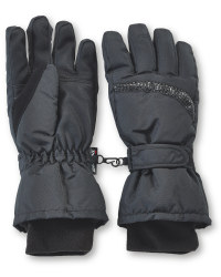 Ladies' Technical Ski Gloves - Black