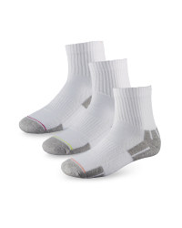 Ladies' Tennis Socks - White
