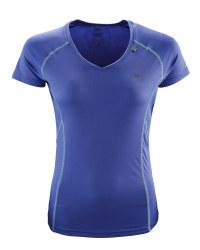 Ladies' Violet Running T-Shirt