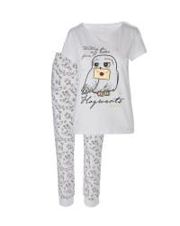 Ladies' White Owl Pyjamas