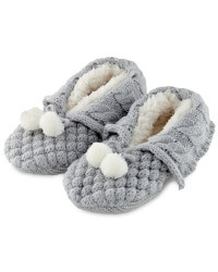 Ladies' Winter Booties - Grey