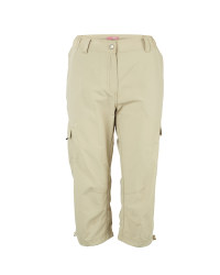 Ladies' 3/4 Length Cargo Trousers