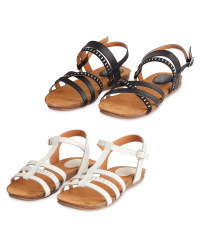 Ladies' Comfort Leather Sandals