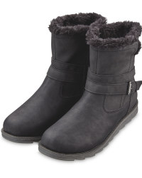 Avenue Ladies' Black Comfort Boots