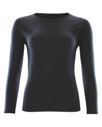 Crane Ladies Black Long Sleeved Top