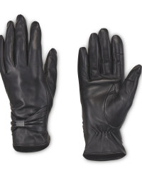 Avenue Ladies' Bow Leather Gloves