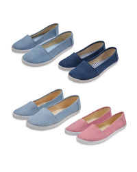 Ladies' Canvas Pumps