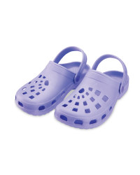 Ladies' Clogs - Lavender