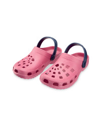 Ladies' Clogs - Pink