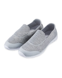 Ladies' Comfort Shoe - Grey