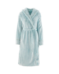Avenue Ladies' Cosy Dressing Gown - Green