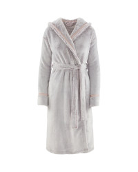 Avenue Ladies' Cosy Dressing Gown - Purple