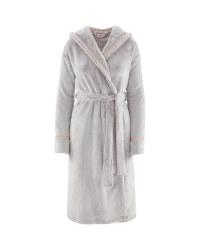 Avenue Ladies' Cosy Dressing Gown - Purple