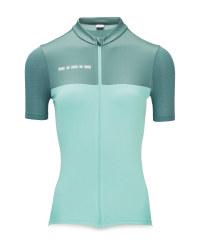 Crane Ladies' Green Cycling Jersey