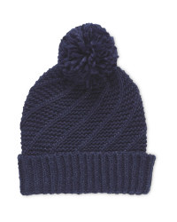 Avenue Ladies Diagonal Beanie
