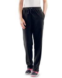 Ladies Fleece Joggers - Black