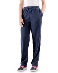 Ladies Fleece Joggers - Navy