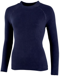 Ladies Fleece Sweater - Navy
