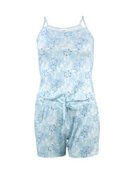 Ladies' Floral Nightwear Playsuit