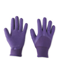 Ladies Gardening Gloves - Dark Purple