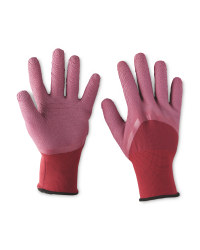 Ladies Gardening Gloves - Red