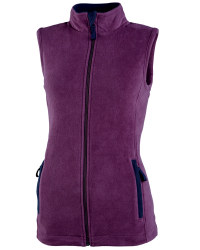 Ladies Gilet - Plum