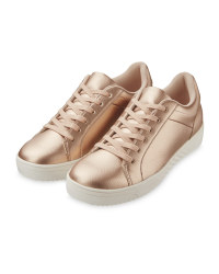 Avenue Ladies' Gold Comfort Shoes
