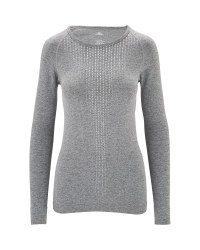 Ladies' Grey Base Layer Shirt