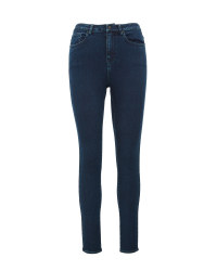 Ladies Indigo Highwaist Jeans