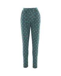 Ladies Jersey Printed Trouser