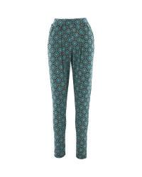 Ladies Jersey Printed Trouser