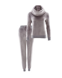 Avenue Ladies Loungewear Set - Grey