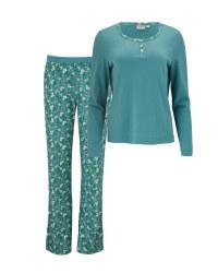 Ladies' Avenue Mint Pyjamas