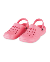 Ladies' Pink Clogs