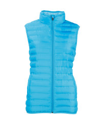 Ladies' Quilted Gilet - Blue
