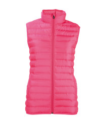 Ladies' Quilted Gilet - Pink