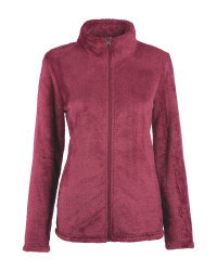 Ladies' Red Fleece Midlayer