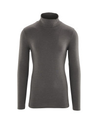 Ladies' Merino Wool Roll Neck Top