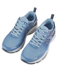 Ladies' Light Blue Running Shoes