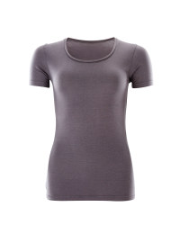 Avenue Thermal Short Sleeve T-Shirt - Charcoal